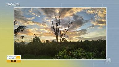 Confira a previsão do tempo desta quinta-feira (9); veja também as fotos do amanhecer - Saiba como fica o tempo no estado.