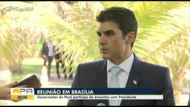 Helder fala sobre mudanças na divisão de recursos entre os estados brasileiros - Assunto foi tratado e reunião com o presidente Jair Bolsonaro.