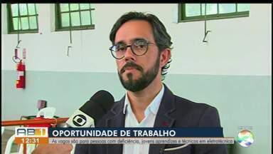 Celpe oferece vaga de emprego para quem mora no interior do Estado - Vagas são para pessoas com deficiência, jovens aprendizes e técnicos em eletrotécnica.