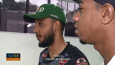 Novos atacantes do Operário-PR falam da expectativa para o próximo jogo - Uilliam e Felipe Augusto chegaram ao time neste ano e marcaram gols pelo Fantasma nas primeiras partidas da Série B do Brasileirão.