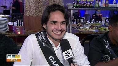 Mister Pernambuco, natural de Caruaru, passa a faixa para outro representante - Despedida foi realizada na quarta-feira (8).