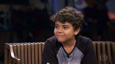 Pedro Sousa faz jazz e sapateado desde os 7 anos - O menino conta que chegou a sofrer bullying quando começou o balé, mas que nunca se importou com os comentários