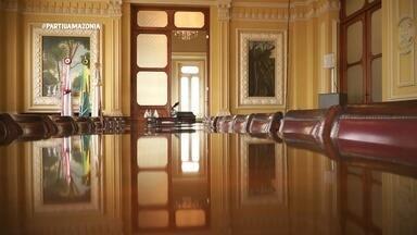 Parte 3: Pra fechar, tem tour pelo Palácio Rio Branco - Parte 3: Pra fechar, tem tour pelo Palácio Rio Branco
