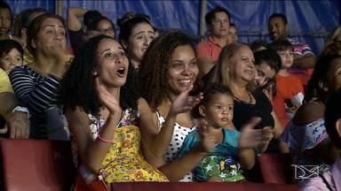 Mães do Grupo Mirante curtem tarde de diversão no circo - Elas tiveram o Dia das Mães antecipado como convidadas especiais do espetáculo.
