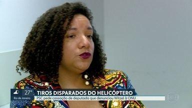 PSC pede a cassação de deputada que denunciou ação de Wilson Witzel em helicópteros à ONU - Deputada Renata Souza, do PSOL, considera pedido de cassação como retaliação e vai denunciar caso à ONU e ao MP
