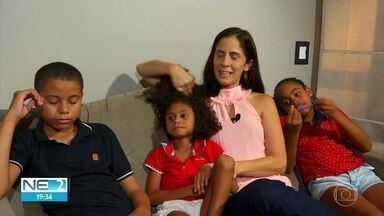 Comerciante que adotou três irmãos vive a expectativa do primeiro Dia das Mães - As crianças têm entre 6 e 11 anos, idades que dificultam o processo de adoção no Brasil