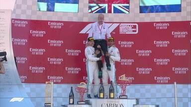 Hamilton faz dobradinha com Bottas e vence GP de Barcelona de F1 - Hamilton faz dobradinha com Bottas e vence GP de Barcelona de F1