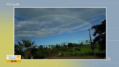 Confira a previsão do tempo desta segunda-feira (13); veja também as fotos do amanhecer - Saiba como fica o tempo no estado.
