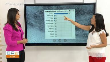 Chuva deve continuar em Salvador e região metropolitana; veja na previsão do tempo - Veja como fica o tempo nos próximos dias.