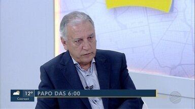 Luiz Rocha, diretor-presidente do Detran-MS é o entrevistado do Papo das 6 - Luiz Rocha, diretor-presidente do Detran-MS é o entrevistado do Papo das 6 desta quarta-feira (15).