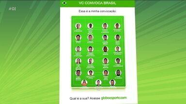 """Alex Escobar """"convoca sua seleção"""" para a Copa América no globoesporte.com - Alex Escobar """"convoca sua seleção"""" para a Copa América no globoesporte.com"""