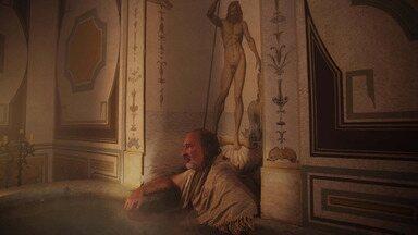 Dia do Julgamento - Da prisão, Cosimo pede a Contessina que suborne um membro da Signoria. Albizzi começa a envenenar a comida de Cosimo. E Contessina negocia o exílio em vez da pena de morte.