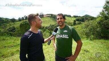 BLOCO 1: Maurício Lima - No primeiro bloco, Rafael Ristow leva o bi-campeão olímpico da seleção brasileira de vôlei Maurício Lima para encarar o desafio da Caverna Quebra-Corpo em Socorro (SP).