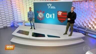 Caio Ribeiro analisa a derrota do Corinthians para o Flamengo - Caio Ribeiro analisa a derrota do Corinthians para o Flamengo