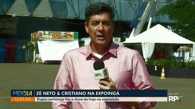 Zé Neto e Cristiano tocam nesta quinta (16) na Expoingá - Exposição deve receber cerca de 550 mil visitantes.