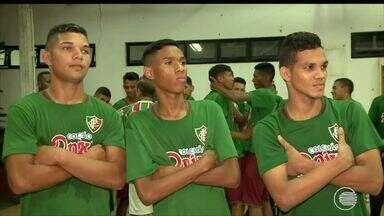 Fluminense também deposita esperanças do título Sub 19 em trio de craques - Fluminense também deposita esperanças do título Sub 19 em trio de craques