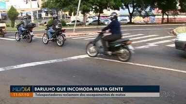 A sua bronca tem espaço: telespectadores reclamam de barulho excessivo de motos - Motoristas que adulteram escapamentos podem ser multados.