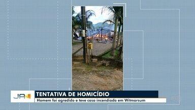 Homem é vítima de tentativa de homicídio em Witmarsum - Homem é vítima de tentativa de homicídio em Witmarsum