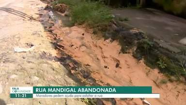 Fala Comunidade: Moradores denunciam buracos em ruas no Monte das Oliveiras - População pede asfaltamento.
