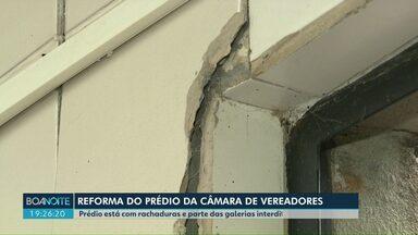 Reforma na Câmara de Vereadores de Londrina fica para o ano que vem - Previsão era começar as obras no primeiro semestre de 2019.