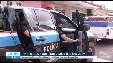 Dois Policiais Militares são executados na região metropolitana de Belém - Médio chega a quase um agente de segurança morto por semana em 2019.