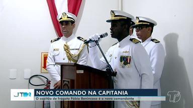 Cerimônia de troca de comando é realizada na Capitania Fluvial de Santarém - Capitão de fragata Fábio Luiz Benincasa assume o posto. Robson Ferreira sai após 16 meses no comando.