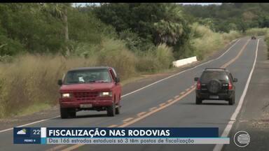 Rodovias estaduais do Piauí possuem trechos intragáveis - Rodovias estaduais do Piauí possuem trechos intragáveis