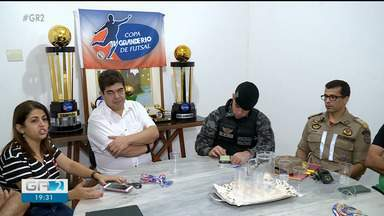 Reunião define detalhes da final da 23ª Copa TV Grande Rio de Futsal - A grande final acontece no próximo sábado (18)