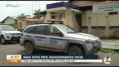 Dois PMs são assassinados nesta quinta-feira na Grande Belém - Sobe para 19 o número de policiais militares mortos em 2019