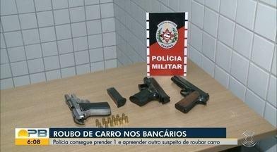 Dupla é detida após família ter carro roubado em farmácia de João Pessoa - Caso aconteceu na Avenida Sérgio Guerra, principal avenida do bairro, e a dupla foi detida no José Américo.