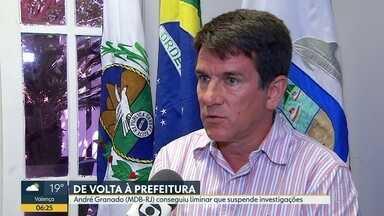 Prefeito de Búzios consegue liminar da justiça para suspender investigações contra ele - Ministério Público investigava André Granado, do MDB, por improbidade administrativa.