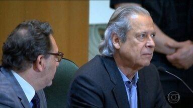 Justiça do Paraná manda prender ex-ministro José Dirceu - Determinação foi feita após o Tribunal Regional Federal da 4ª Região (TRF-4) negar um recurso da defesa, que pedia prescrição da pena de 8 anos e 10 meses.