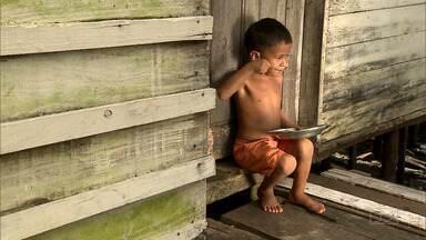 Repórter Mirante destaca o combate à fome em comunidades do Maranhão - O programa mostrou as ações comunitárias realizadas para acabar com a deficiência alimentar de crianças e melhorar os índices de qualidade de vida.