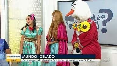 Peça encena filme 'Frozen' em Goiânia - Veja e relembre o grande sucesso do cinema.