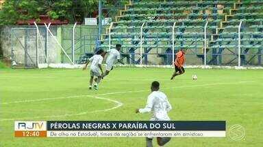 Paraíba do Sul faz amistoso com o Pérolas Negras - Duelo aconteceu na sexta-feira, às 15h, no Estádio Municipal de Itatiaia, onde time está fazendo a pré-temporada.
