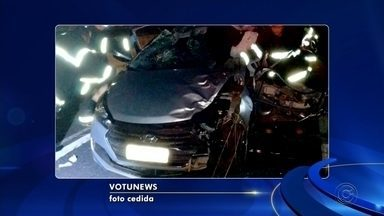 Ciclista morre após ser atropelado por carro em rodovia de Votuporanga - Um ciclista morreu atropelado por um carro na rodovia Euclides da Cunha, em Votuporanga (SP), na noite desta sexta-feira (17).