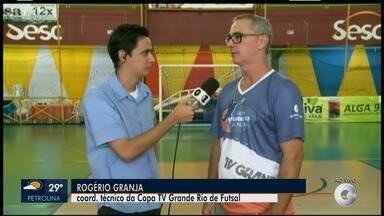 Coordenação da 23º Copa TV Grande Rio de Futsal comenta sobre a expectativa para a final - O Coordenador Rogério Granja avaliou a copa e destacou ter sido a melhor edição.