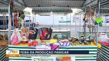 Feira da Produção Familiar coloca agricultura local em destaque - Produtores da região oeste apresentam produtos em evento, que segue até domingo (19).