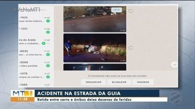 Acidente na Estrada da Guia tem uma morte e dezenas de feridos - Acidente na Estrada da Guia tem uma morte e dezenas de feridos.