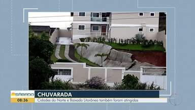 Cidades do interior do Rio são atingidas por chuvas - Situação ficou crítica em Macaé, Rio das Ostras, Saquarema e Cabo Frio.