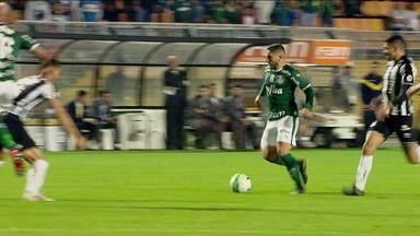 Palmeiras goleia o Santos de Sampaoli e completa 28 jogos seguidos sem perder - Palmeiras goleia o Santos de Sampaoli e completa 28 jogos seguidos sem perder