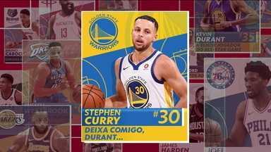 Stephen Curry faz 37 pontos contra os Blazers e é o cara da semana da NBA - Stephen Curry faz 37 pontos contra os Blazers e é o cara da semana da NBA