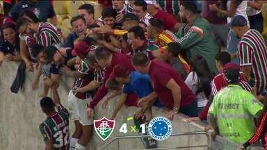 Fluminense goleia o Cruzeiro, no segundo confronto entre os times na mesma semana - Fluminense goleia o Cruzeiro, no segundo confronto entre os times na mesma semana