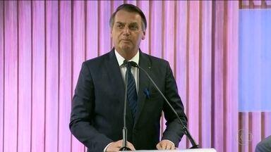 Presidente Bolsonaro promete não atrapalhar o setor empresarial - Ele falou em uma cerimônia promovida pela Firjan.