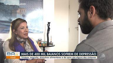 Mais de 400 mil baianos sofrem de depressão no estado - Tristeza, angústia e distúrbios alimentares são alguns dos sintomas da doença.