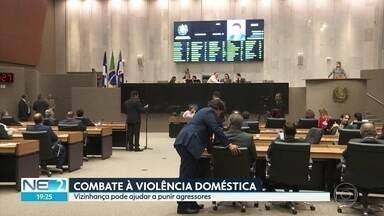 Alepe aprova projeto que obriga condomínios a avisar à polícia sobre violência doméstica - Proposta da deputada estadual Gleide Angelo (PSB) foi aprovada em 1ª votação na Assembleia Legislativa de Pernambuco.