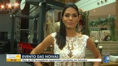 Feira de noivas reúne mais de 20 fornecedores em Salvador - Confira as novidades e veja como participar.