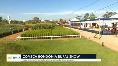 Em Ji-Paraná começa a 8ª Rondônia Rural Show - Feira começa na quarta-feira (22) e segue até o sábado, dia 25 de maio. Entrada é gratuita.