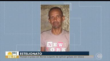 Homem é preso em Barras suspeito de aplicar golpes em idosos - Homem é preso em Barras suspeito de aplicar golpes em idosos
