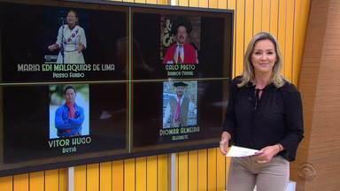 Desafio dos trovadores tem grande final no Rodeio Internacional de Osório - Vitor Hugo Medeiros, Maria Edi de Lima, Galo Preto e Diomar Almeida disputam o troféu neste sábado (25).